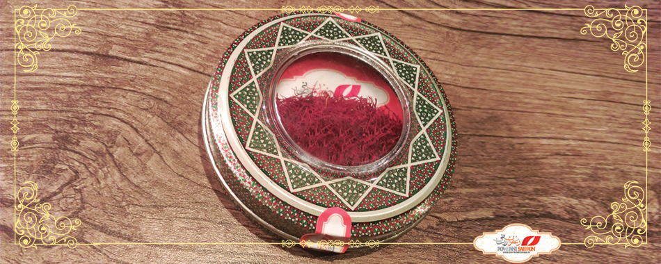 Saffron packaged for export from a exporter company in Iran ( Rowhani Saffron Co. )